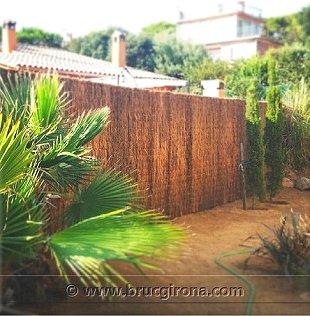 Bruc girona brezo natural para vallas y ocultaciones de jard n - Precio brezo para vallas ...